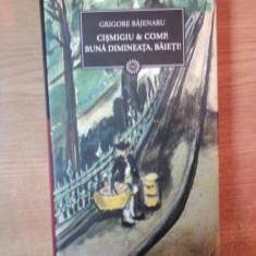 CISMIGIU & COMP. BUNA DIMINEATA, BAIETI de GRIGORE BAJENARU, Bucuresti 2009 - Roman