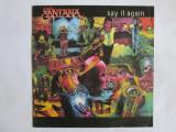 VINIL EP(SINGLE) SANTANA SAY IT AGAIN 1985 CBS, emi records