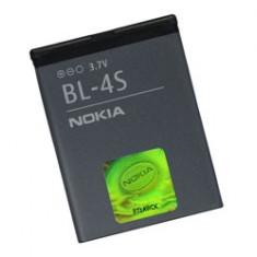 BATERIE \ ACUMULATOR Nou BL-4S Nokia 2680 Slide, 6208 Classic, 7100 Supernova, Li-ion, 3, 7 V, 1000mAh/3, 6Wh