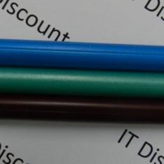 Set 3 bare de silicon cerate pentru pistol de lipit cu silicon 7mm * 10cm bara de lipit Albastru, Verde, Maro - Pistol cu silicon
