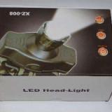 Lanterna Cap XZ-008 cu led si acumulator reincarcabil