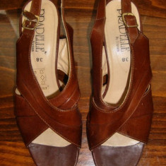 Pantof dama Made in Italia piele Pradelle by Fraven marimea 38 - Reducere, Culoare: Din imagine, Piele naturala, Cu toc