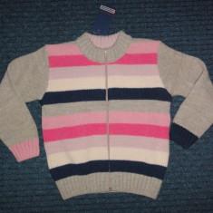 Nou! Pulover gros lana dungat, marca Campagnolo, fete 6-7 ani, Culoare: Multicolor