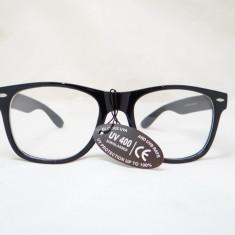 Ochelari WayFarer Tocilar Clear Lens Rama Neagra
