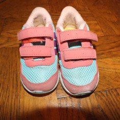 Adidasi Adidas NEO - Adidasi copii, Marime: 22, Culoare: Din imagine, Fete, Textil