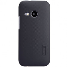 HUSA NILLKIN FROSTED SHIELD HTC ONE MINI 2 BONUS FOLIE ECRAN - Husa Telefon HTC, Negru, Plastic
