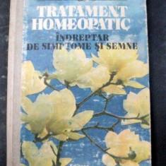 TRATAMENT HOMEOPATIC INDREPTAR DE SIMPTOME SI SEMNE BUCURESTI 1987 de DR.MARIA CHIRILA