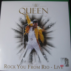 QUEEN-Rock you from rio - Muzica Pop Eagle, VINIL