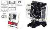 Camera Sport SJ4000 WiFi Hotspot FullHD 1080P Subacvatic30m 12MP Stabil Optic 32GB |2 Acumulatoare | similara GoPro | Garantie 24 luni | Ver Colet