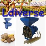 Moara Macinat Desfacatoare Batoza Uruitor Ciocanele Cereale Fructe 2 in 1