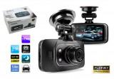 NOU Camera Auto DVR Video GS8000L Full HD 1920x1080P cu Nightvision Infrarosu 30fps G Sensor Card MicroSD 16GB GARANTIE + Verificare Colet