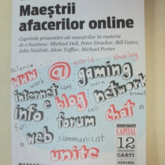 MAESTRII AFACERILOR ONLINE-JOHN MIDDLETON 2012 - Carte Marketing