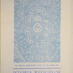 ISTORIA RELIGIILOR MANUAL PENTRU SEMINARIILE TEOLOGICE 1991-ALEXANDRU STAN, REMUS RUS - Carti Crestinism