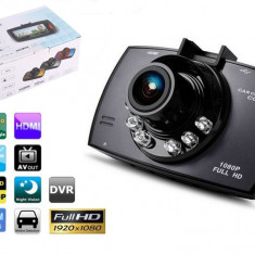 DVR Auto Novatek Camera Video 12 MP Full HD WDR si Nightvis 30fps 170˚ 32GB - Camera video auto Novatek, Wide, Single, miniUSB