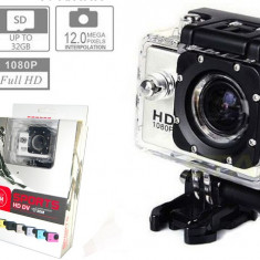 Camera Sport SJ4000 WiFi Hotspot FullHD 1080P Subacvatic30m 12MP Stabil Optic 16GB |2 Acumulatoare | similara GoPro | Garantie 24 luni | Ver Colet