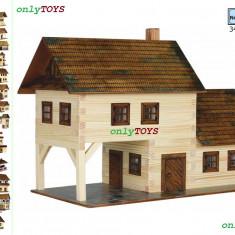 Set constructie casa casute traditionale din lemn TAVERNA eco walachia tavern - Set de constructie Walachia, 8-10 ani, Unisex