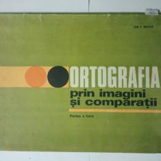 ORTOGRAFIA PRIN IMAGINI SI COMPARATII - PARTEA A TREIA - ION P. NECULA ( 1411 )