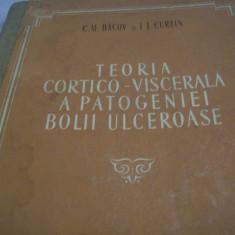 teoria cortico-viscerala a patogeniei bolii ulceroase-1954-tiraj 3600 ex.