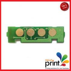 CHIP CLT-C406S pentru CARTUS TONER CYAN compatibil SAMSUNG CLP360, CLP365, CLX3300, CLP3305 - Chip imprimanta