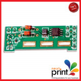 CHIP pentru CARTUS TONER CYAN compatibil SAMSUNG CLP510, CLP515, CLP550 - Chip imprimanta