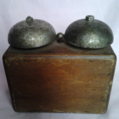 SONERIE TELEFON DE PERETE AUTENTICA ANII 20 - Telefon fix