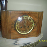 Ceas semineu Art Deco Germania perfect functional - Ceas de semineu