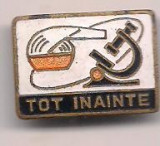 Insigna- PIONIER TOT INAINTE