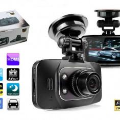 NOU Camera Auto DVR Video GS8000L Full HD 1920x1080P cu Nightvision Infrarosu 30fps G Sensor Card MicroSD 8GB GARANTIE + Verificare Colet