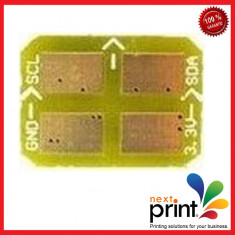 CHIP pentru CARTUS TONER YELLOW compatibil SAMSUNG CLP 350 - Chip imprimanta