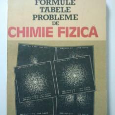 FORMULE TABELE PROBLEME DE CHIMIE FIZICA - GAVRIL NIAC * VALERIAN VOICULESCU * IOAN BALDEA * MIRCEA PREDA ( 1364 )