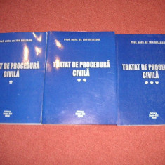 Tratat de procedura civia - Ion Deleanu - Carte Drept procesual civil