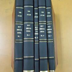 Toma Stelian Curs de drept comercial 5 volume Bucuresti 1916, Alta editura
