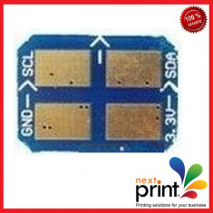 CHIP pentru CARTUS TONER CYAN compatibil SAMSUNG CLP 350 - Chip imprimanta