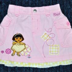 Fustita roz cu Dora, fetite 18-24 luni