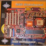 Placa de baza MSI 645 Ultra, Socket 478 -poza reala, Pentru INTEL, DDR