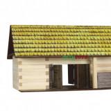Set constructie casute casuta traditionala din lemn - Hambar Sura - eco walachia