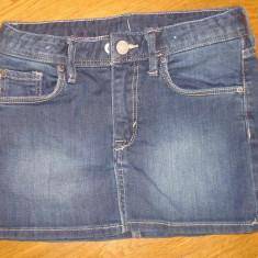 Fusta si pantaloni DENIM, pt fetite, varsta 6-8 ani, marime 122-128 cm, Marime: Alta, Culoare: Din imagine
