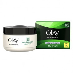 Cremă de față Olay Anti-Wrinkle Nature Fusion Day Cream Age 25+, Mixt