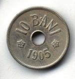 ROMANIA 10 BANI  1905  STARE FOARTE BUNA