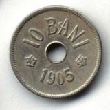 ROMANIA 10 BANI 1905 STARE FOARTE BUNA - Moneda Romania