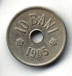 ROMANIA 10 BANI 1905 STARE FOARTE BUNA foto