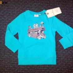 Nou! Bluza de trening grosuta, marca Tom Tailor, fetite 2-3 ani, Culoare: Albastru, Fete