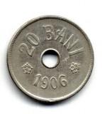 ROMANIA 20 BANI  1906  STARE FOARTE BUNA