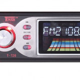 MP3 masina cu card si usb casetofon masina automobil radio mp3 player, Peste 32 GB, Negru, Display, FM radio