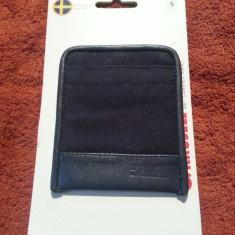Husa piele Sony Ericsson Xperia Krusell Lund S Blister - Husa Telefon Krusell, Negru, Fara snur, Saculet