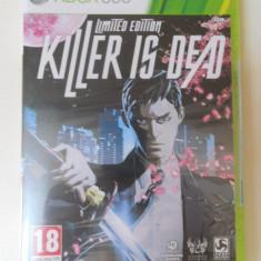 JOC KILLER IS DEAD - xbox 360 - original PAL - Jocuri Xbox 360, Actiune, 18+