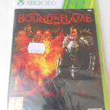 JOC BOUND BY FLAME - xbox 360 - original PAL - Jocuri Xbox 360, Role playing, 16+