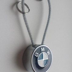 Breloc auto metal pentru bmw + ambalaj  cadou