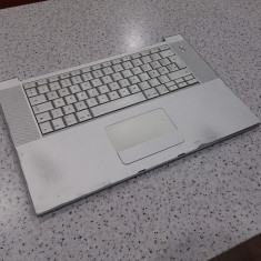 Palmrest + tastatura Apple MacBook pro A1260 in stare buna - Carcasa laptop