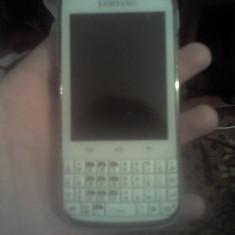 Telefon Samsung Galaxy chat, Alb, 32GB, Neblocat, Single SIM, Quad core